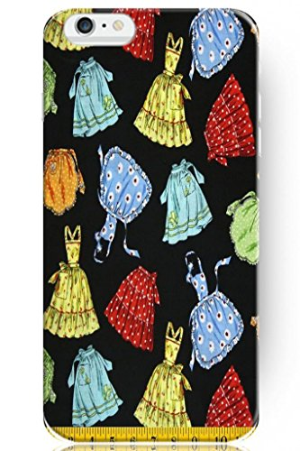 Sprawl Stylish Design Hard Cover For Apple Iphone 6 (4.7) -- Teenage Girl Short Skirt And One-Piece Dress