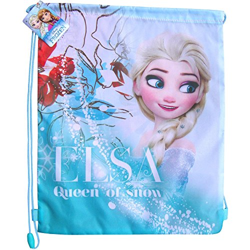 Disney-Frozen-Elsa-Queen-of-Snow-Drawstring-School-Sports-Gym-Swimming-Bag