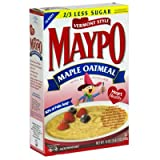 Homestate Farms Maypo Vermont Style Maple Oatmeal Cereal, 19 Ounce -- 12 per case.