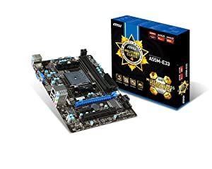 MSI Computer Corp. A55M-E33 Motherboards from MSI Computer Corp.