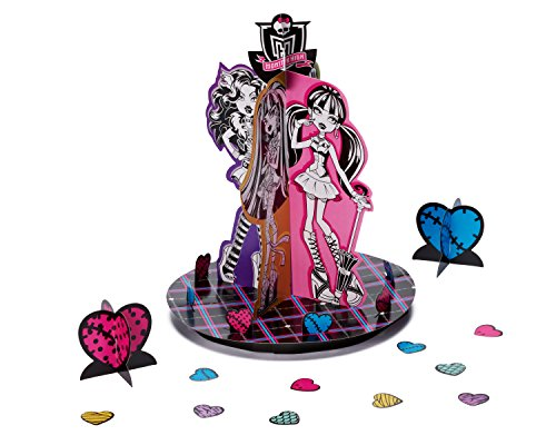 American Greetings Monster High Table Decorations, Party Supplies Novelty - 1