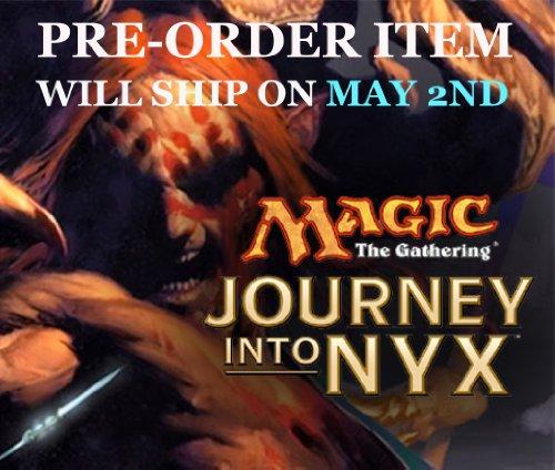 Magic: The Gathering (Mtg)- Journey Into Nyx Set Of 5 Intro Decks front-417892