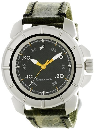 Fastrack-Commando-Analog-Black-Dial-Mens-Watch-3088SL02