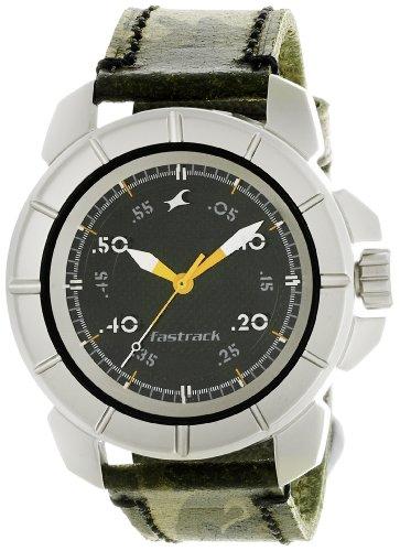 Fastrack-Commando-Analog-Black-Dial-Mens-Watch-3088SL02