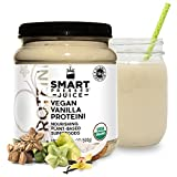 Smart Pressed Vegan Vanilla Proteini Plant-based Organic Superfood Protein Low-Carb Low-Sugar Juice Cleanse Superfoods Detox Protein Powder Premium Smoothie (Vanilla, 20 Servings Bottle)