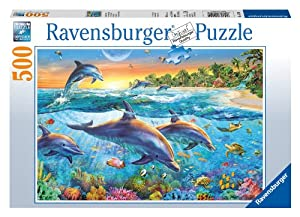 Dolphin Cove 500 Piece Puzzle from Ravensburger
