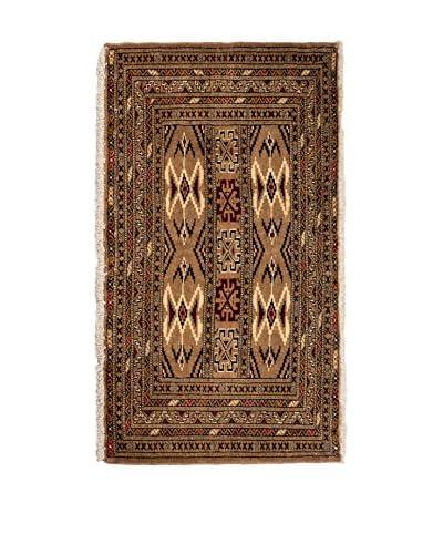 CarpeTrade Alfombra Persian Kelat Marrón/Multicolor