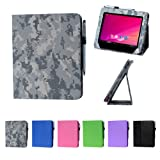 i-UniK HKC Tablet 8GB Memory Dual Core Tablet Slim Folio Case [Bonus Stylus] (ACU Camo)