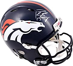 Peyton Manning Denver Broncos Autographed Riddell Pro-Line Revolution Authentic Helmet with Manning Mask - Fanatics Authentic Certified