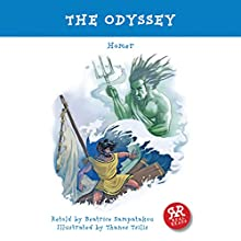 The Odyssey (       ABRIDGED) by Homer, Beatrice Sampatakou Narrated by Jonathan Vickers