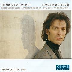 Bach, J.S.: Piano Transcriptions by Busoni, Rachmaninov, Kempff and Hess