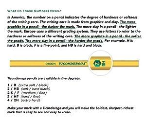 Caja de Lápices Dixon Ticonderoga Laddie Tri-Write, de figura triangular #2, caja de 36 lápices, color amarillo