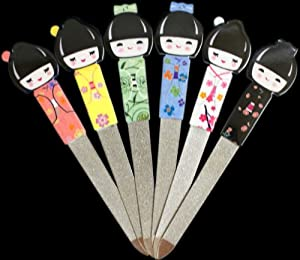Kokeshi Kimono Geisha Girl Manicure Nail File