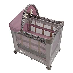 Graco Travel Lite Crib With Stages, Mena (Discontinued by Manufacturer)