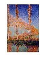 Especial Arte Lienzo Poplars1 Multicolor