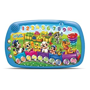 LeapFrog Touch Magic Counting Train, Frustration Free Packaging