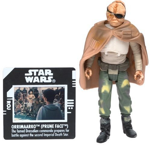 "Star Wars Classic Trilogy 4"" Basic Figure: Orrimaarko (Prune Face)"