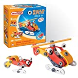 Luba San Helicopter Take-A-Part Build Toy With Tools For Kids