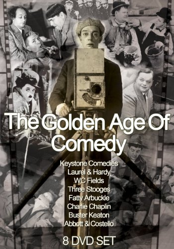 The Golden Age Of Comedy - 8 DVD Box Set [DVD]