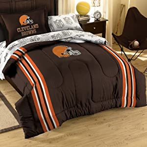 NFL Cleveland Browns 5-Piece Twin Size Bedding Set by Northwest