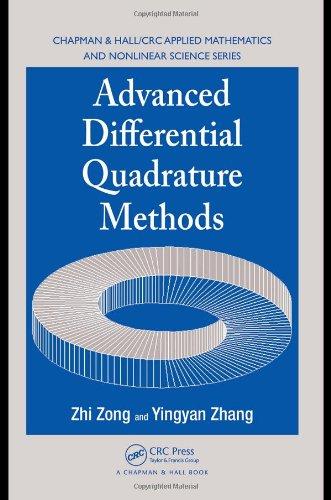 Advanced differential quadrature methods