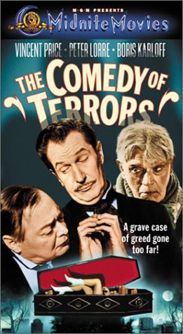 Comedy of Terrors [VHS]