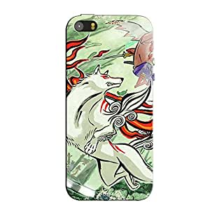 OKAMI BACK COVER FOR APPLE IPHONE 5