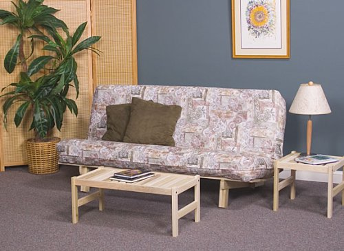 Bi-Fold Sofa Bed Futon Frame with 8