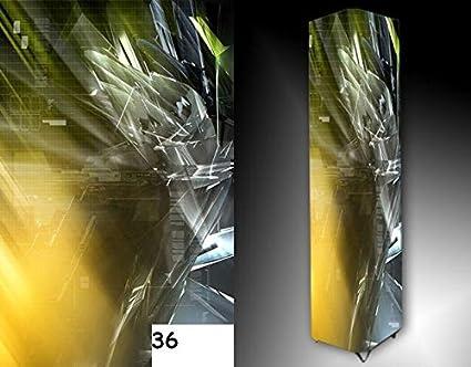 Stehlampe Bodenlampe Objektleuchte 100 cm Deko Stoff Abstrakt, sofort lieferbar