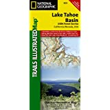 Lake Tahoe Basin (Trails Illustrated Map #803) (National Geographic Maps: Trails Illustrated)