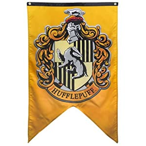 "Harry Potter - Hufflepuff Wall Banner - 30"" x 50"" by Calhoun Sportswear"