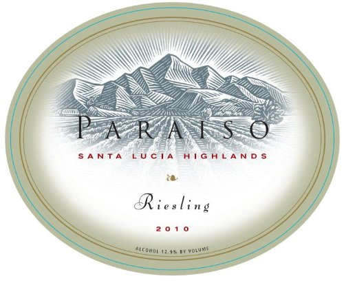 2010 Paraiso Riesling Santa Lucia Highlands 750 Ml