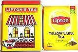 Lipton リプトン YELLOW LABEL TEA イエローラベル「ティーバッグ 25袋+【数量限定】専用缶ケース付き」