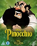 Pinocchio [Blu-ray] Disney Villains O-Ring Slipcover Edition UK Import (Region B) Disney Classics #2
