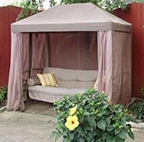 Popular Buy Gazebo Swing Replacement Canopy and Netting Set