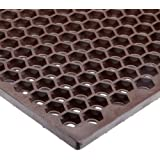 NoTrax T15 Heavy Duty Nitrile Rubber Optimat Safety/Anti-Fatigue Mat for Wet or Greasy Areas