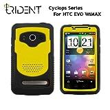 日本初上陸! 高耐衝撃性+防塵機能 Trident Case Cyclops for HTC EVO WiMAX Yellow トライデントケース サイクロプス イエロー au ISW11HT ケース