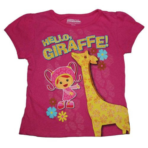 Nick Jr. Team Umizoomi Milli Giraffe Little Girls T-Shirt