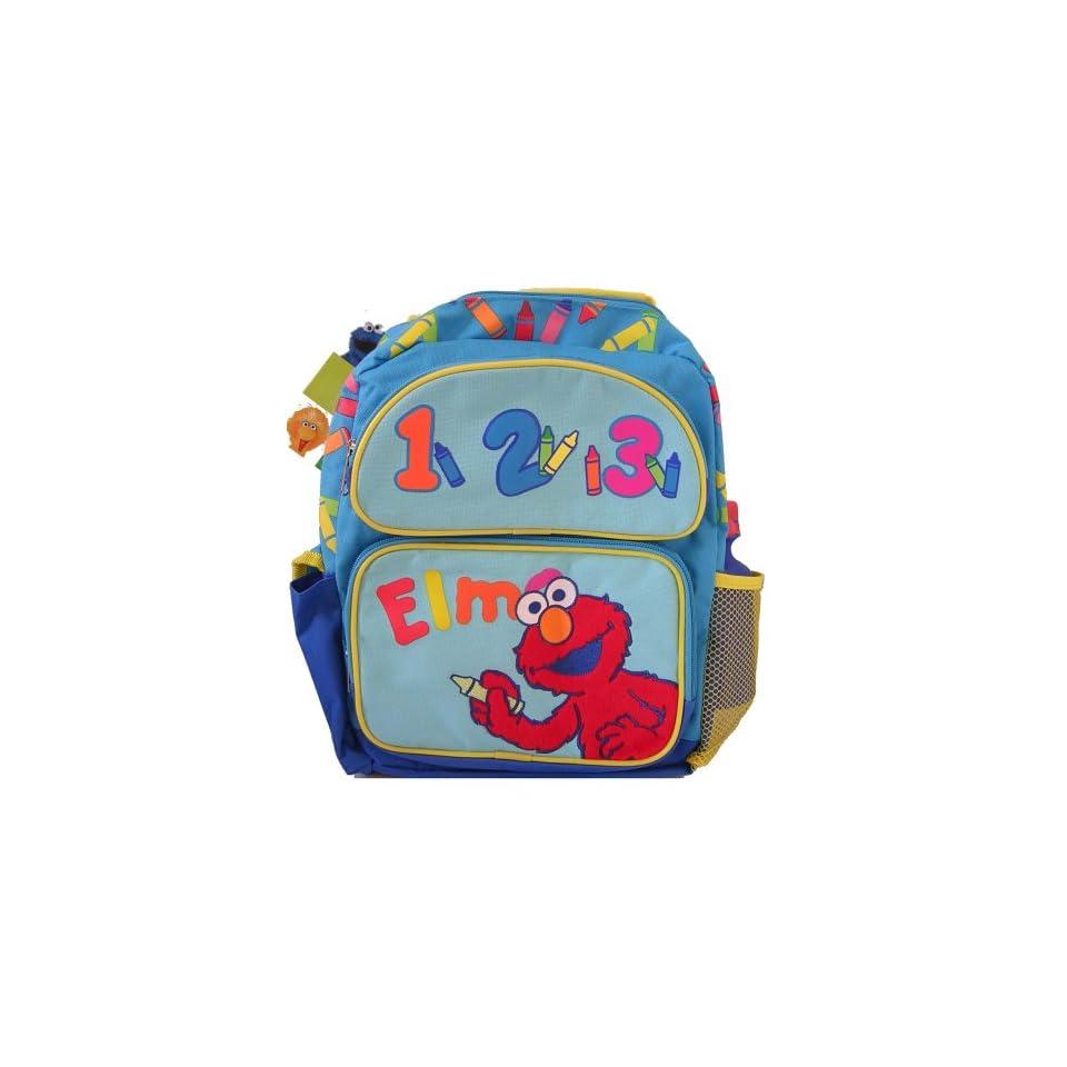 Sesame Street 123 Elmo Backpack