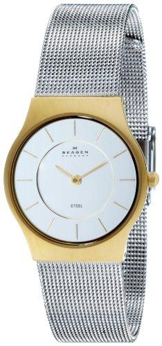 Skagen Women's Two-Tone Mesh Bracelet Watch 233SGS