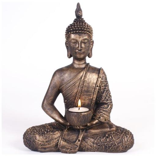 Sitting-Thai-Buddha-Tealight-Holder-Ornament