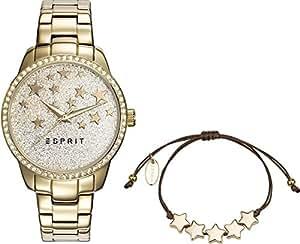 Esprit Analog Gold Dial Women's Watch-ES109352002