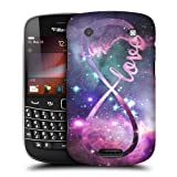 Head Case Designs Love Infinity Collection Protective Snap-on Hard Back Case Cover for BlackBerry Bold Touch 9900