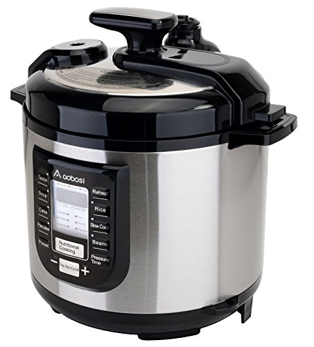 Aobosi Multi-Functional 6Qt/1000W Electric Pressure Cooker Stainless Steel Cooking Stock Pot Digital YBW60-100P1 (Electric Stock compare prices)