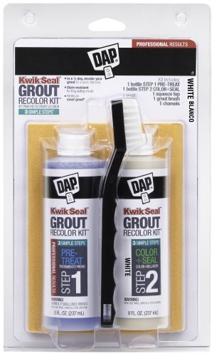 DAP DAP KWIK SEAL GROUT RECOLOR KIT-WHITE White Size: Small Color: White, Model: 634, Tools & Hardware store (Dap Kwik Seal Grout Recolor Kit compare prices)