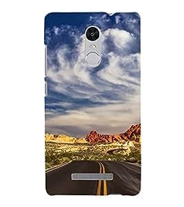 EPICCASE Hilly Road Mobile Back Case Cover For Xiaomi Redmi Note 3 (Designer Case)