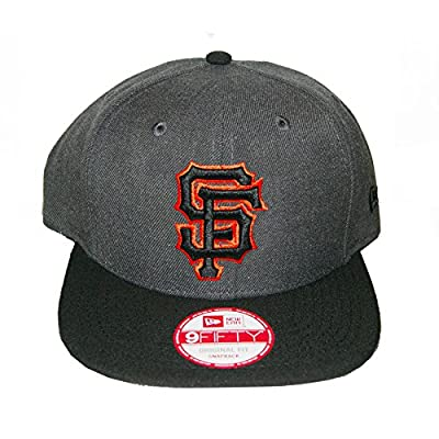 San Francisco Giants New Era Heather Graphite Snapback Hat