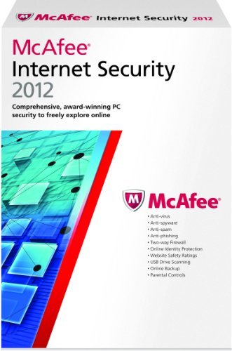 McAfee Internet Security 1 User 2012 [Old Version]