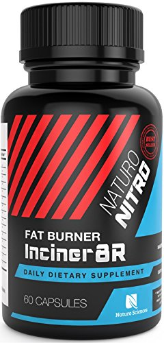Inciner8R Fat Burner Supplement Designed for Weight Loss and Mental Focus; Pre Workout or Breakfast Pills for Day-long Appetite Control and Fat Loss; Diet Pills for Men and Women - 60 Servings