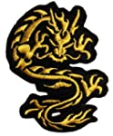 Drache Gold Gold Dragon Fantasy Patch...